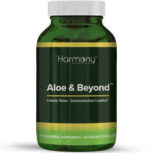 Aloe and Beyond Pure Herbal Supplement- 120 Vegan Capsules from Harmony Veda,USA