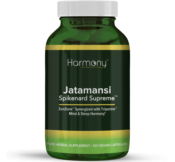 Jatamansi Spikenard Supreme Pure Herbal Supplement- 120 Vegan Capsules from Harmony Veda,USA