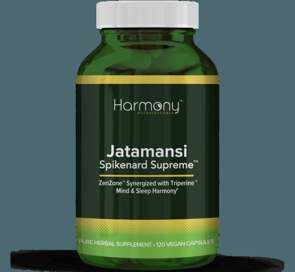 Jatamansi Spikenard Supreme Pure Herbal Supplement- 120 Vegan Capsules from Harmony Veda,USA
