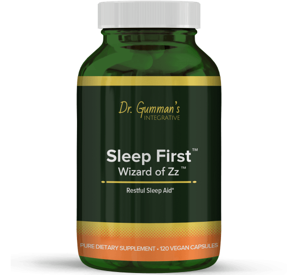 Sleep First Wizard of Zz Pure Herbal Supplement – 120 Vegan Capsules