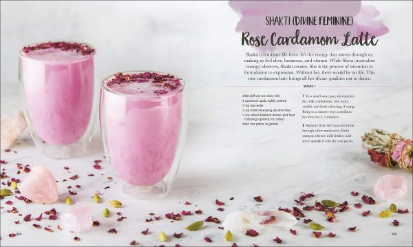 Rose Cardamon latte shake Book By Harmony Veda